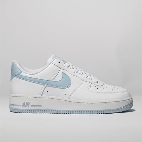 womens white \u0026 pl blue nike air force 1