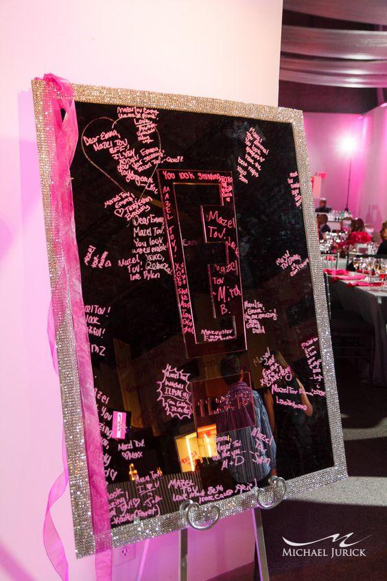 Mirror sign in board bat mitzvah ideas pinterest mirror and