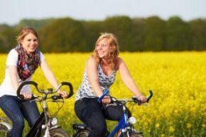 Radfahren - gut gelaunt abnehmen