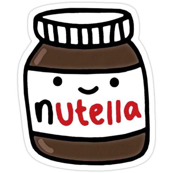 Nutella Cute Sticker By Rekip Nutella Cute Stickers Nutella Sticker