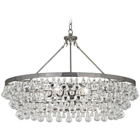 Robert Abbey Bling Collection Large Nickel Chandelier $1791
