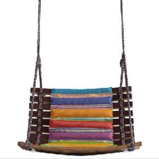 Swing chair by Missoni. Yum.