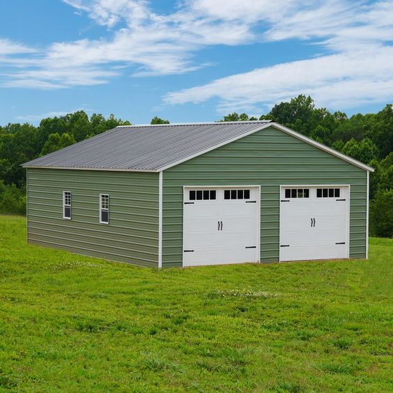 Low Monthly Payments With Rto Carport Central Video In 2020 Custom Metal Buildings Metal Buildings Steel Buildings