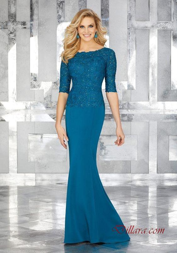 2020 uzun gece elbiseleri ve abiye kiyafetler mavi uzun kayik yaka yetim kol islemeli kiyafet kombinleri aksamustu giysileri the dress nedime giysileri