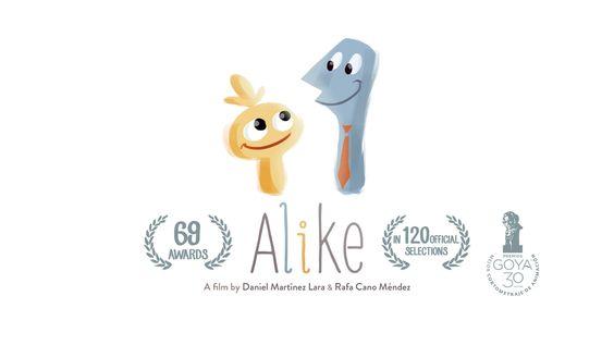 """Alike"" is an animated short film directed by Daniel Martínez Lara & Rafa Cano Méndez www.alike.es  SYNOPSIS: In a busy life,Copi…"