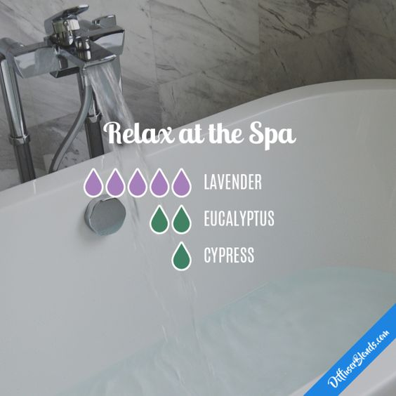 Relax at the Spa - Essential Oil Diffuser Blend