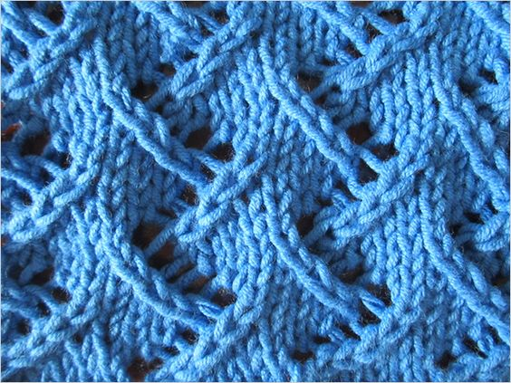 Video tutorials, Stitch patterns and Lace on Pinterest