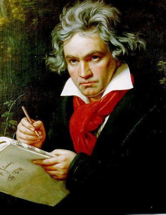 Ludwig van Beethoven - German composer and pianist. A crucial figure in the transition between the Classical and Romantic eras in Western art music, he remains one of the most famous and influential of all composers.