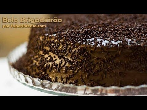 Receita de Bolo Brigadeirão - YouTube