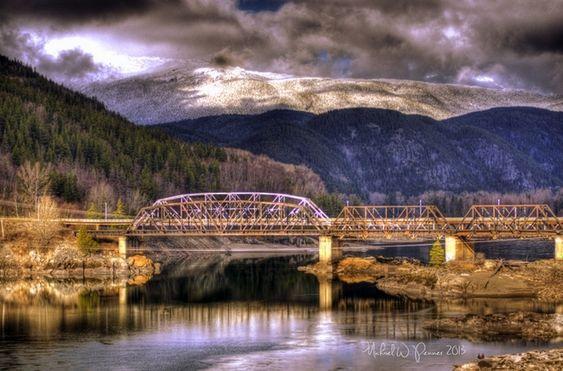 Old skeena bridge terrace bc m o u n t a i n for Terrace canada