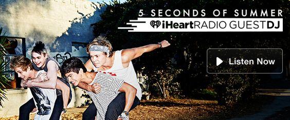 Guest DJ: 5 Seconds Of Summer   KISS 95.7