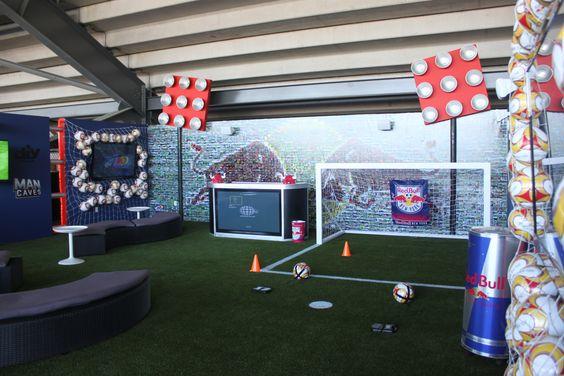 Red Bulls Stadium Fan interaction area New Jersey @Lyani Powers