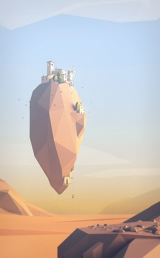 Extract from a serie of concept enviroments for a game project.thanks for watching!: