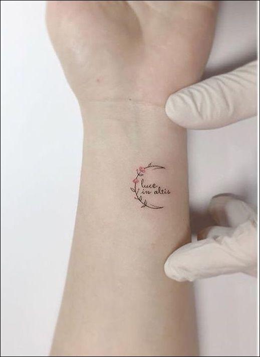 Pin by demi on Tattoo | Tattoos | Small wrist tattoos ...