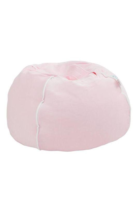 Leuke Zitzak Stoel.Beanbag Kinderkamer Bubble Velvet Pink Kindermeubels