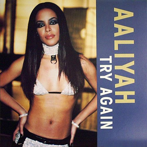 Aaliyah, Timbaland – Try Again (single cover art)
