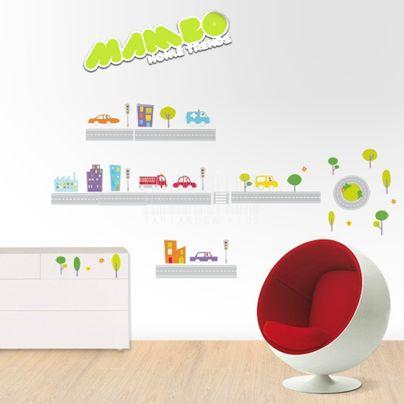Vinilos infantiles niños, tienda online Mambo Home Trends | Tartaruga Kids