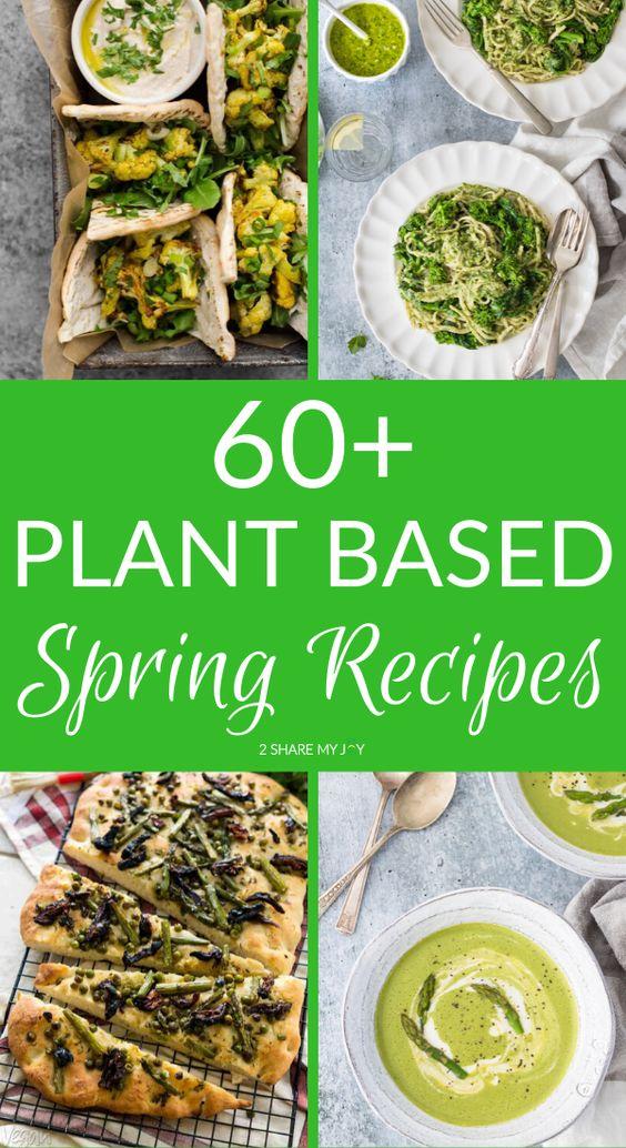 20 Easy Vegan Spring Recipes (for lunch or dinner)