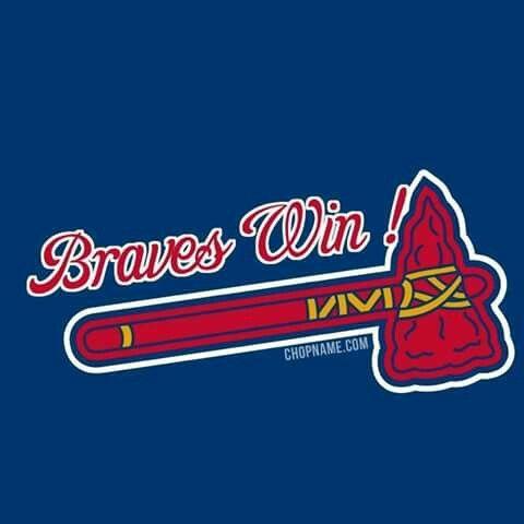 Pin By Michelle Travis On Atlanta Braves Atlanta Braves Logo Atlanta Braves Baseball Atlanta Braves