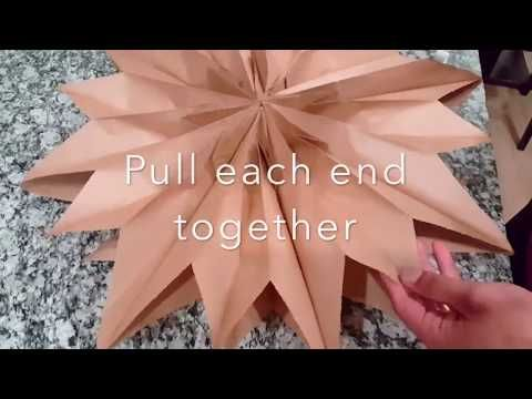 49++ Paper bag snowflake craft ideas in 2021