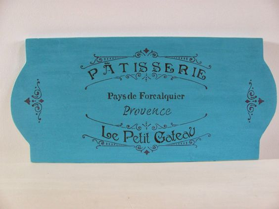 My Shabby Chateau: French Stenciled Signs