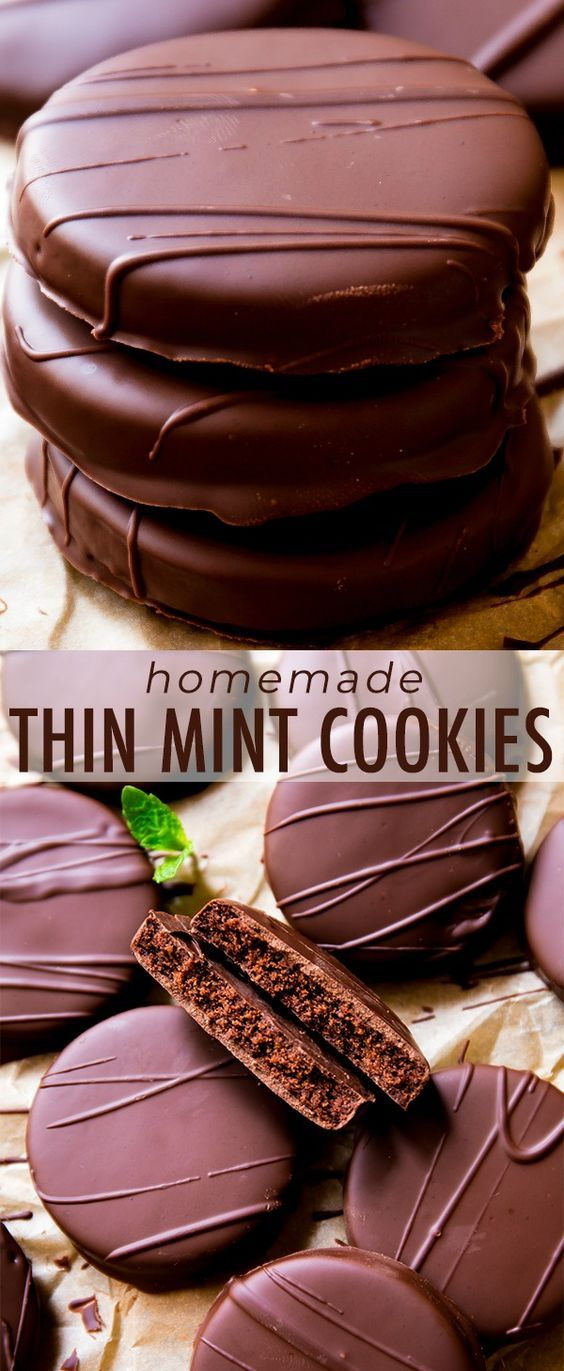 Pin By Desiree On Cookies In 2020 Mint Cookies Thin Mint