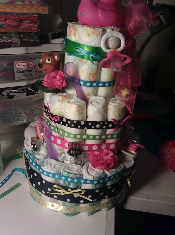 Pamper Cake created by Lucy
