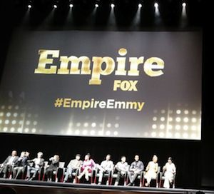 empire cast event discusses dumbing down of network tv