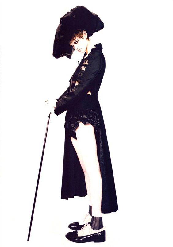 Saskia de Brauw   Photography by Paolo Roversi   For Vogue China   December 2011