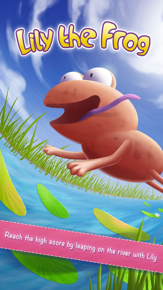 iPhone App Lily the frog |  | ***** | 4  | $ NOW FREE | Launch yourself on the river with Lily and reach the highest score by jumping fast.Beware of fishes and do not forget to fee