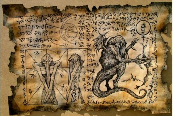 El Necronomicón,un libro salido de los infiernos 9301fcf295423f800309fba205e5c388