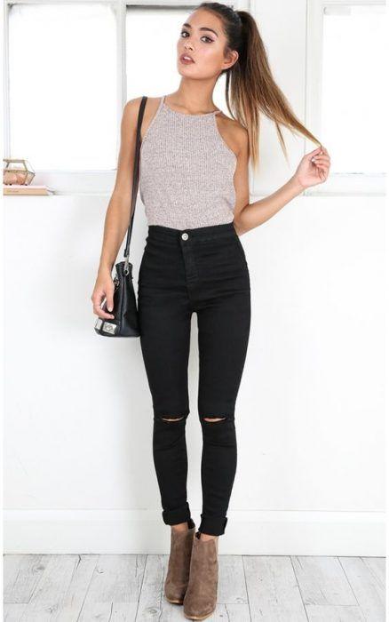43+ Looks con Jeans de Moda para Mejorar tu Estilo (2020