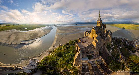 Abbey Mont Saint-Michel #11 • AirPano.com • Photo