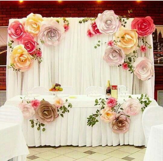 Paper Flowers Backdrop Wedding Paper Backdrop Pinterest Wedding Paper