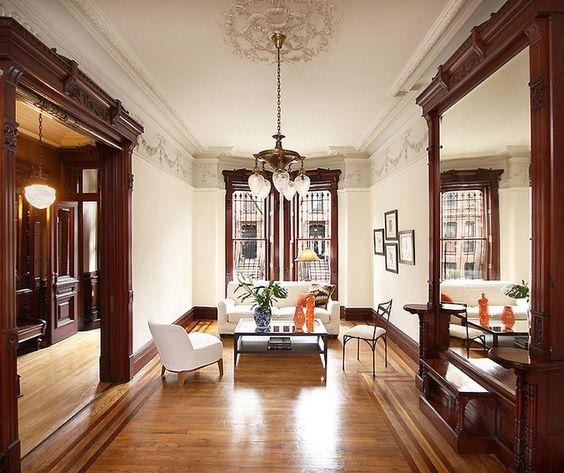 Brooklyn Lincoln Place Brownstone Victorian Interior 3 4