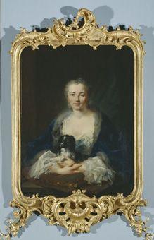 Johann Heinrich Tischbein d. Ä. (1722 - 1789), Porträt der Gräfin Therese Sophie…