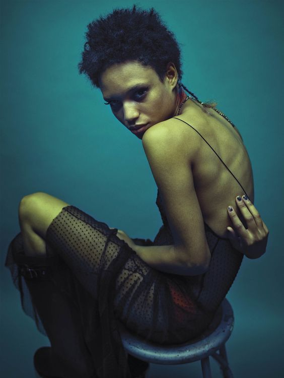 Pooja Mor, Marjan Jonkman, Ruth Bell, Afrodita Dorado, Kaleb Ressler, Cayley King by Mario Sorrenti for V Magazine Spring 2016 10