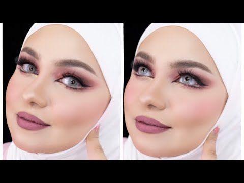 مكياج عيون فخم توسيع العيون بإستخدام باليت انستزيا الجديدة Youtube Make Up Hoop Earrings Earrings