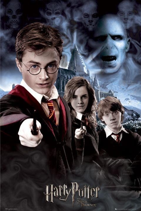 Harry Potter And The Order Of The Phoenix Harry Potter Books Series Harry Potter Harry Potter Cartoon