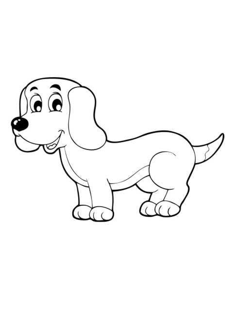 Intelligent Und Wachsam Mit Einem Grossen Hundegebell Machen Sie Feine Wachhunde Als Unabhangiger Jager Gefahrlicher Beute Gezuc Dackel Ausmalen Ausmalbilder
