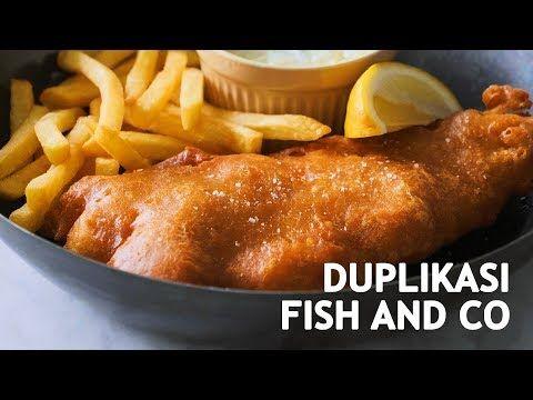 Resep Fish And Chips Ngalahin Enaknya Fish And Co Youtube Resep