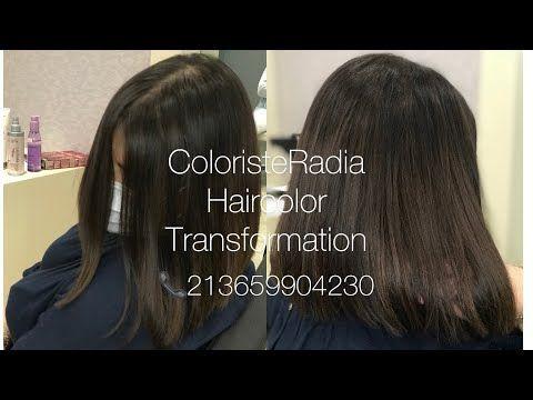 Chatain Clair بني فاتح Radia Coloristeradia Youtube Hair Color Hair Styles Long Hair Styles