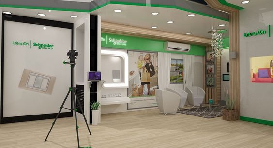 Schneider Electric Exhibition Le Marche 2015 Egypt on Behance