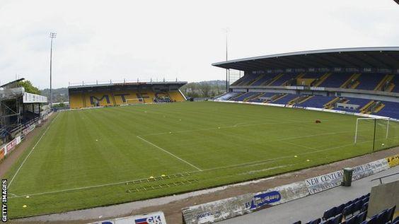 Mansfield Town FC - One Call Stadium - 9.186 tilskurer