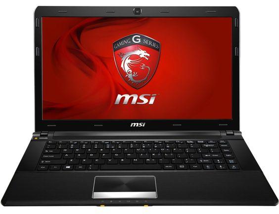 """MSI GE40 2OC-008US i7-4702MQ 2.20GHz 16GB 750GB 7200rpm nVIDIA 760M 2GB W8 HD+ 14"""" Gaming Laptop"""