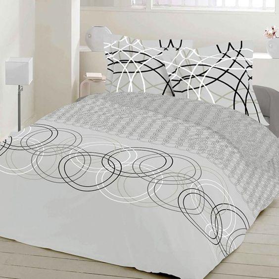 Crystal - Cotton Bed Linen Set (Duvet Cover & Pillow Cases)