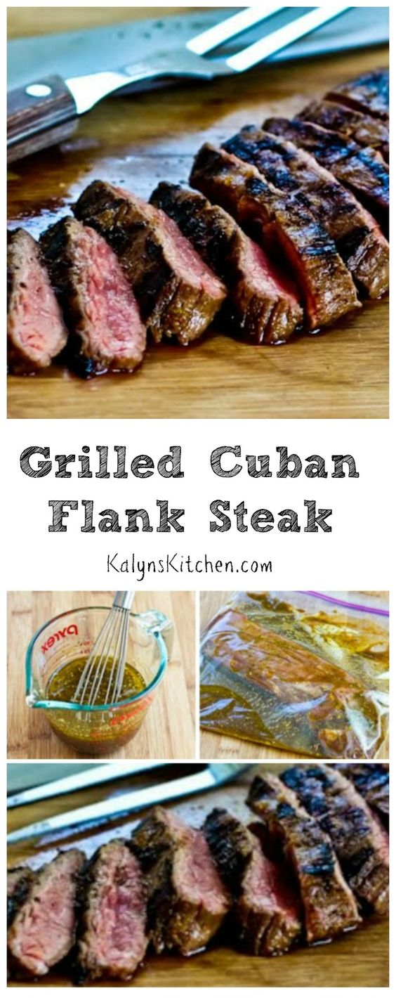 Grilled Cuban Flank Steak | Flank Steak, The Beef and Steaks
