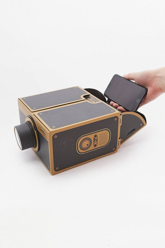 Slide View: 2: Projecteur pour smartphone Projector 2.0 noir et doré