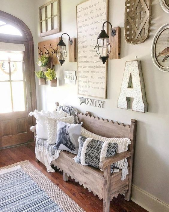 47 Smart Farmhouse Living Room Wall Decor Ideas #farmhouselivingroom #farmhouselivingroomdecor #farmhouselivingroomideas » Animebgx.net