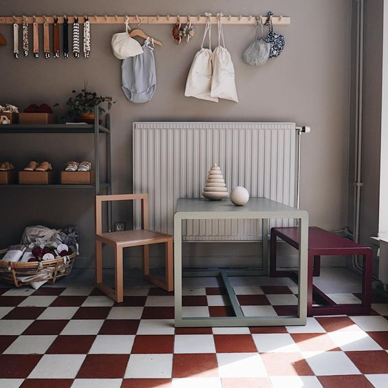 Mini Mocks, inspiration for kid's room, via Scandinavian Love Song